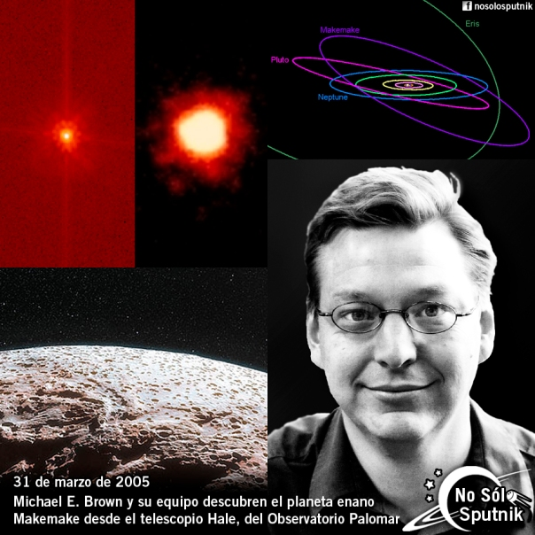 Descubrimiento planeta enano Makemake